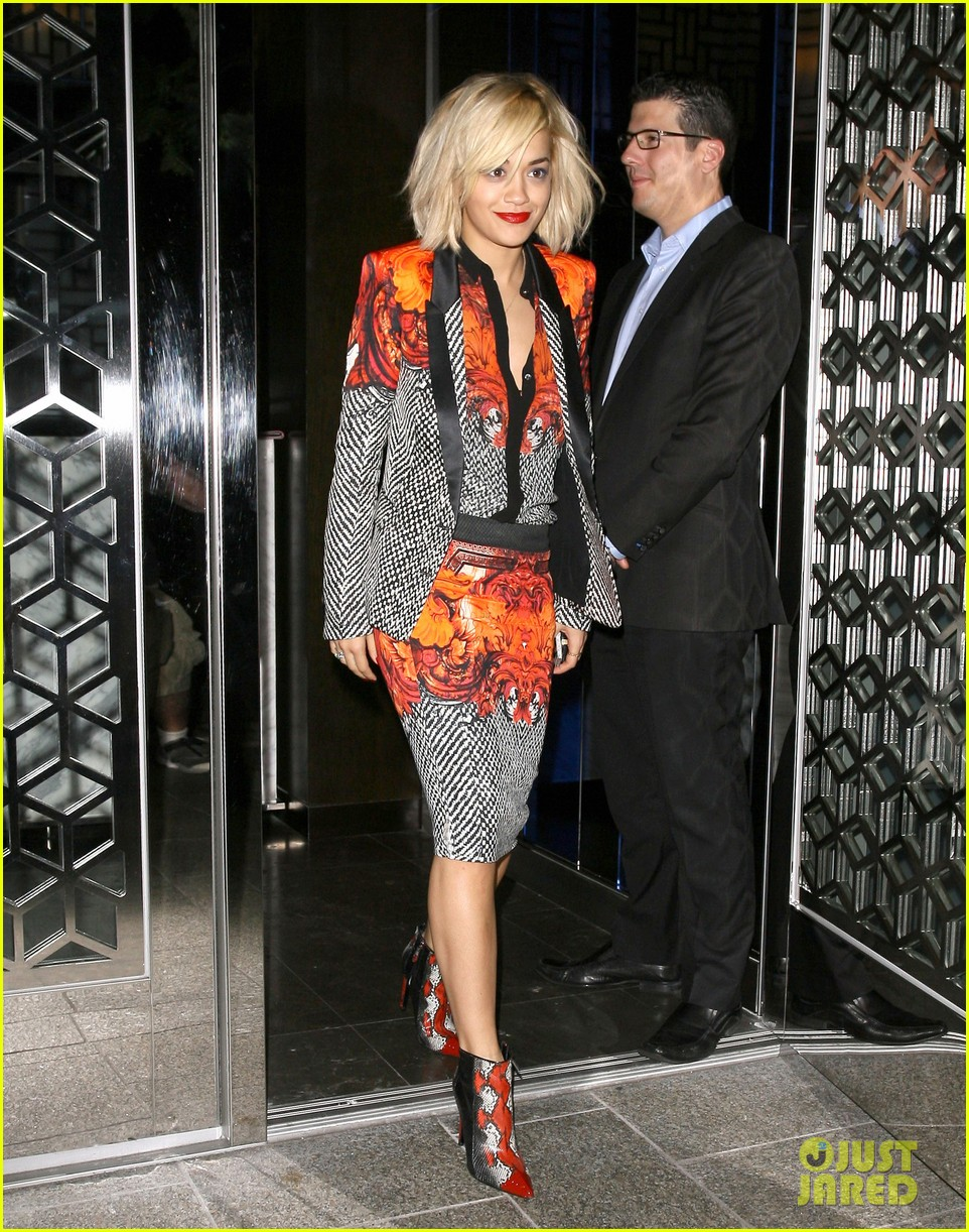 rita ora calvin harris hakkasan dinner date in beverly hills 06