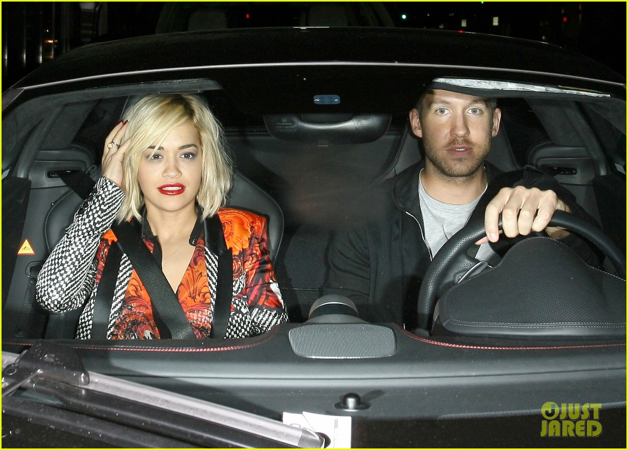 rita ora calvin harris hakkasan dinner date in beverly hills 10