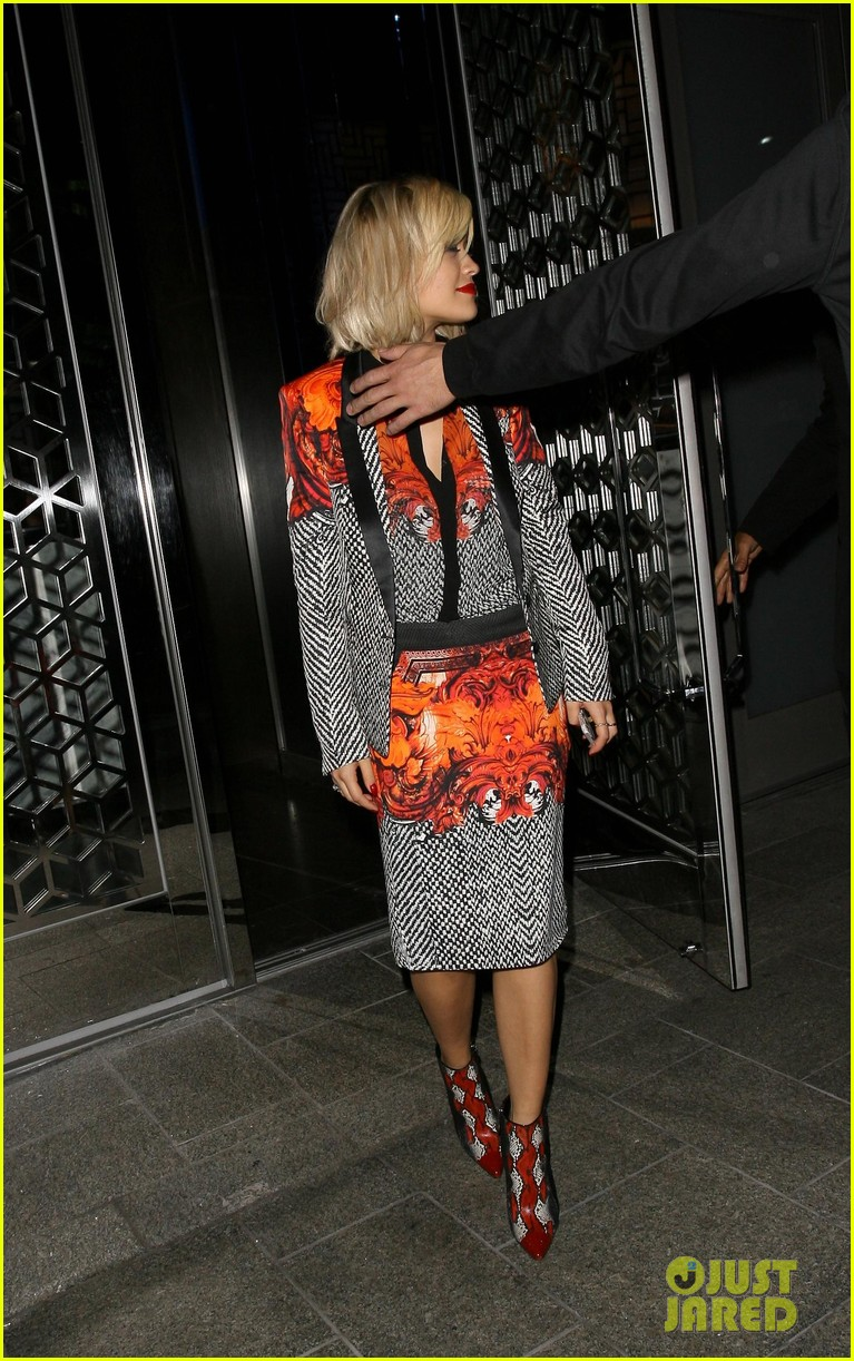 rita ora calvin harris hakkasan dinner date in beverly hills 13