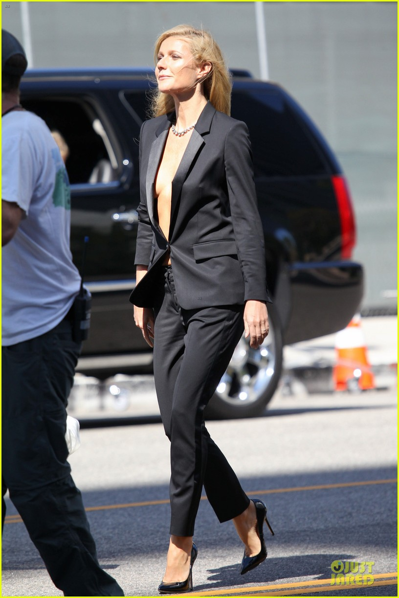 gwyneth paltrow goes braless for hugo boss 01