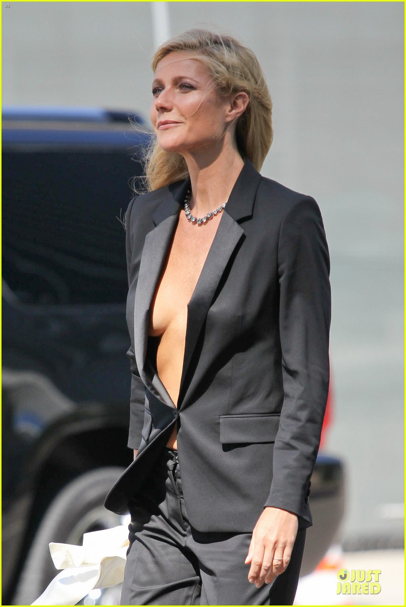 gwyneth paltrow goes braless for hugo boss 02