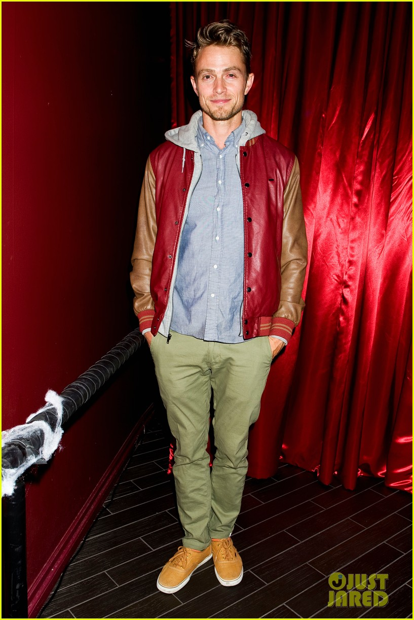 patrick schwarzenegger wilson bethel just jared halloween party 2013 11