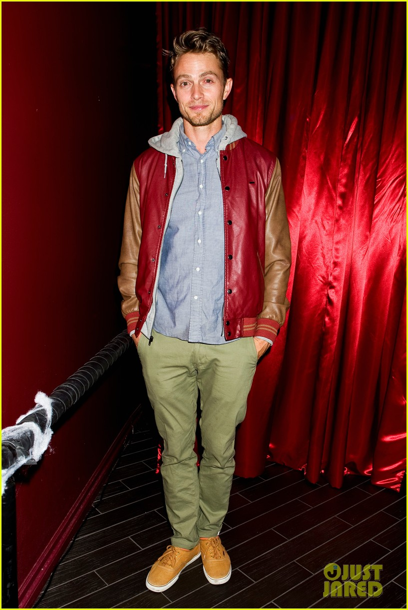 patrick schwarzenegger wilson bethel just jared halloween party 2013 12
