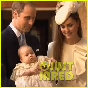 prince george christening photo with kate middleton prince william 01