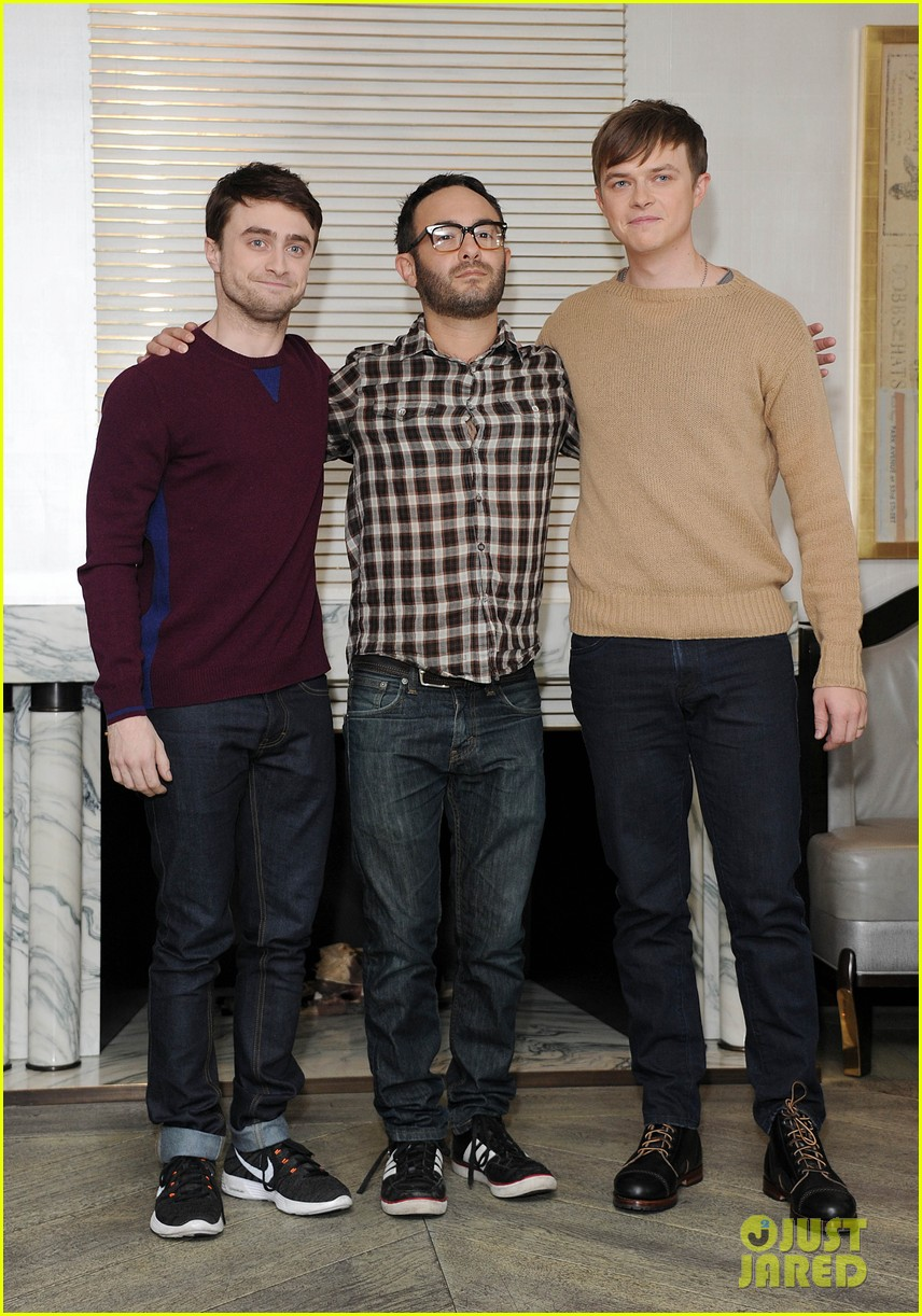 daniel radcliffe dane dehaan kill your darlings bfi photo call 05
