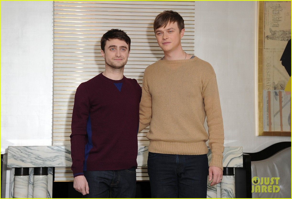daniel radcliffe dane dehaan kill your darlings bfi photo call 10