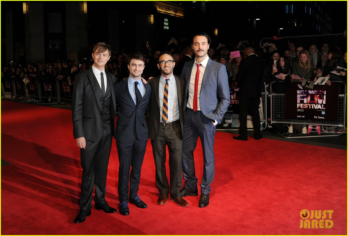 daniel radcliffe dane dehaan kill your darlings at bfi fest 25