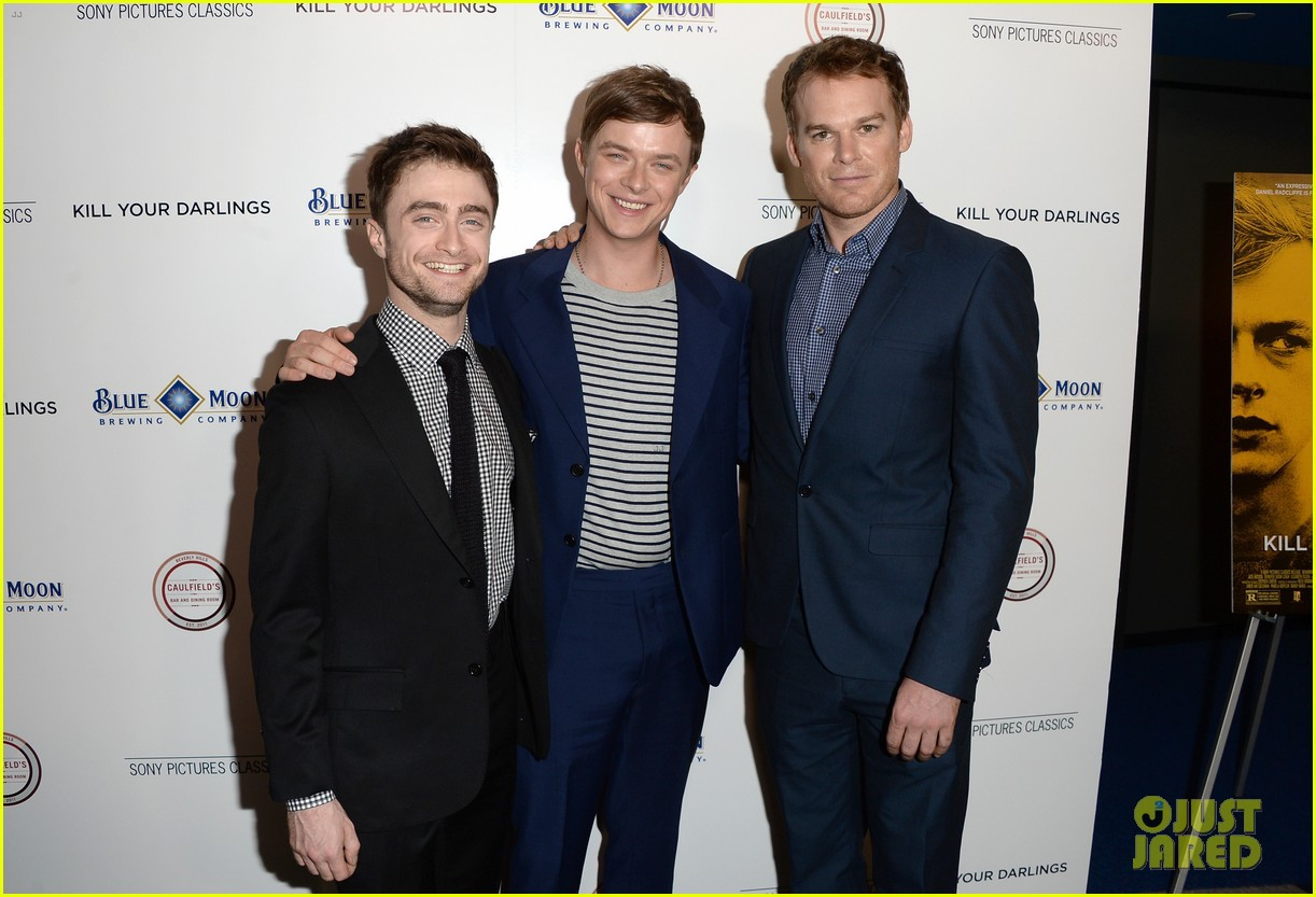 daniel radcliffe dane dehaan kill your darlings premiere 17
