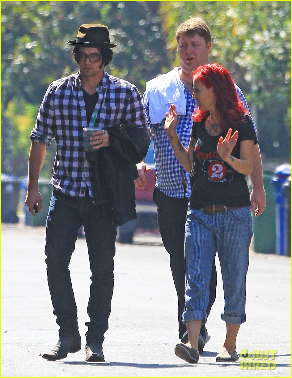 jackson rathbone sheila hafsadi step out after wedding 06
