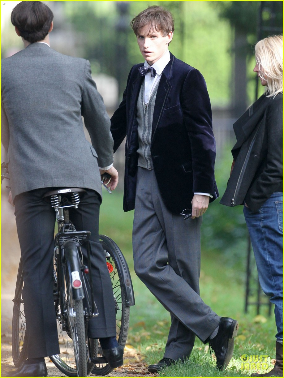eddie redmayne felicity jones theory of everything set 052968027