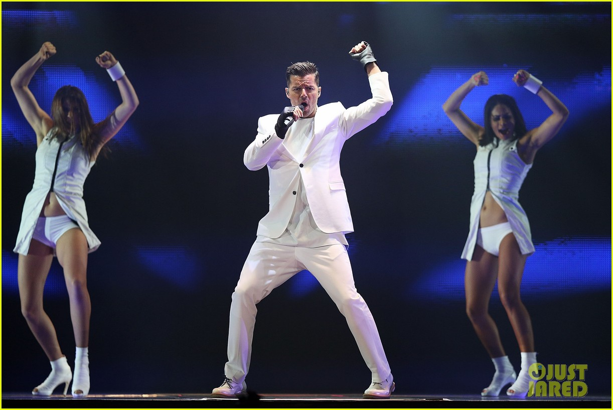 ricky martin hits the stage in australia 062966740