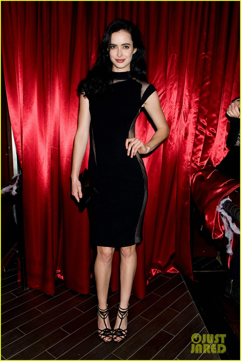 krysten ritter lacey chabert just jared halloween party 2013 01