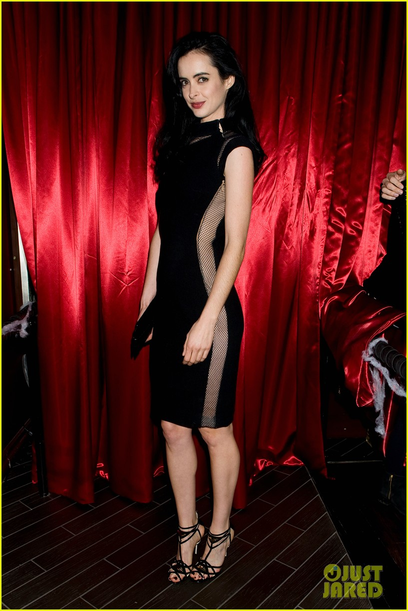 krysten ritter lacey chabert just jared halloween party 2013 06