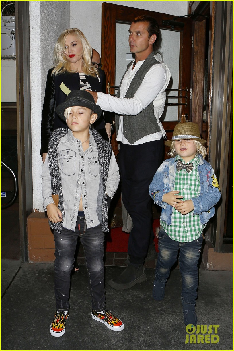 gavin rossdale celebrates birthday with gwen stefani kids 01