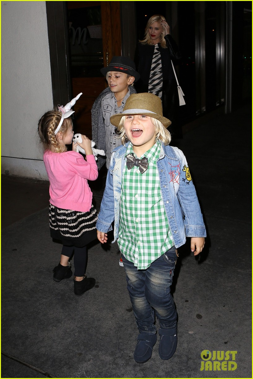 gavin rossdale celebrates birthday with gwen stefani kids 12