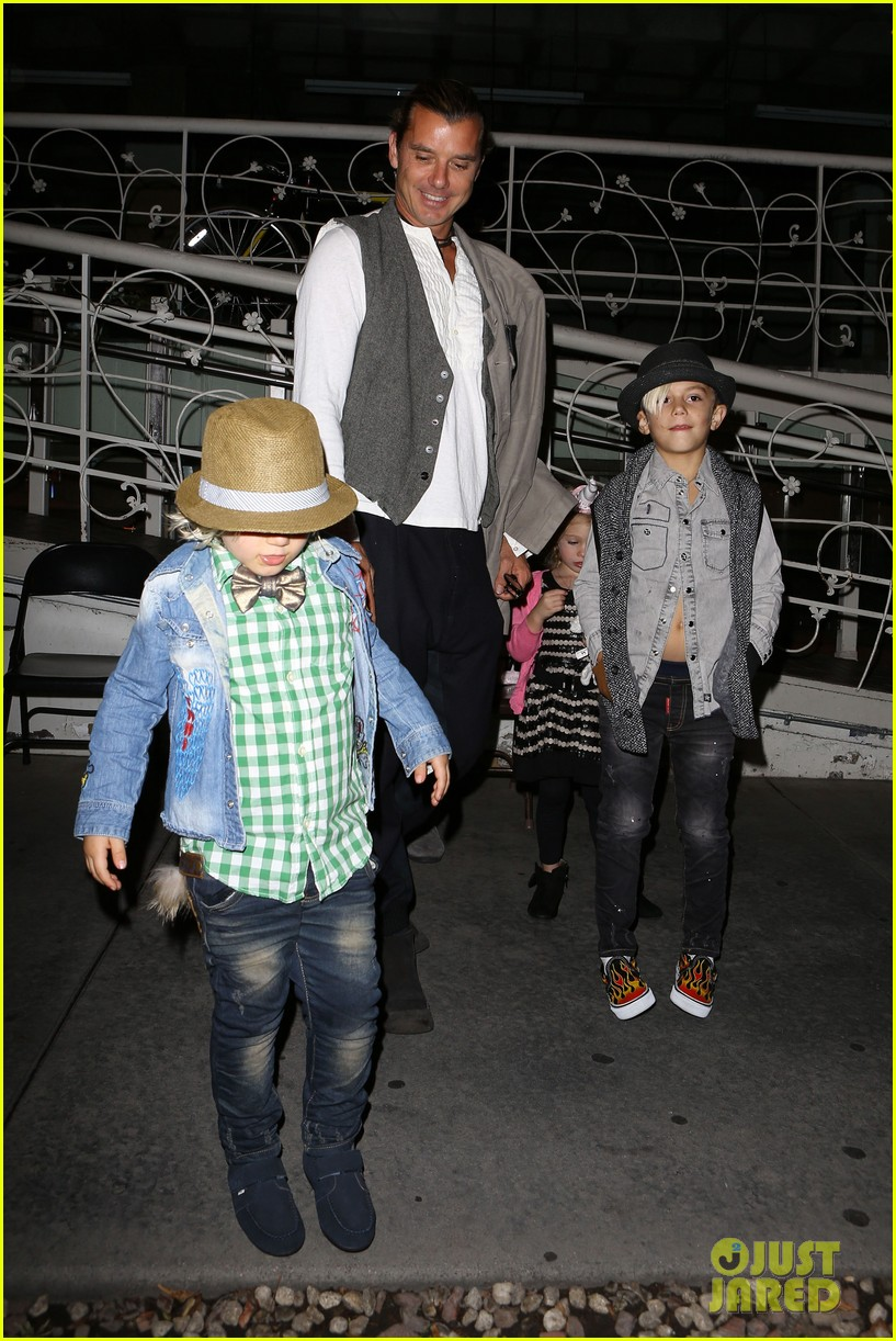 gavin rossdale celebrates birthday with gwen stefani kids 15