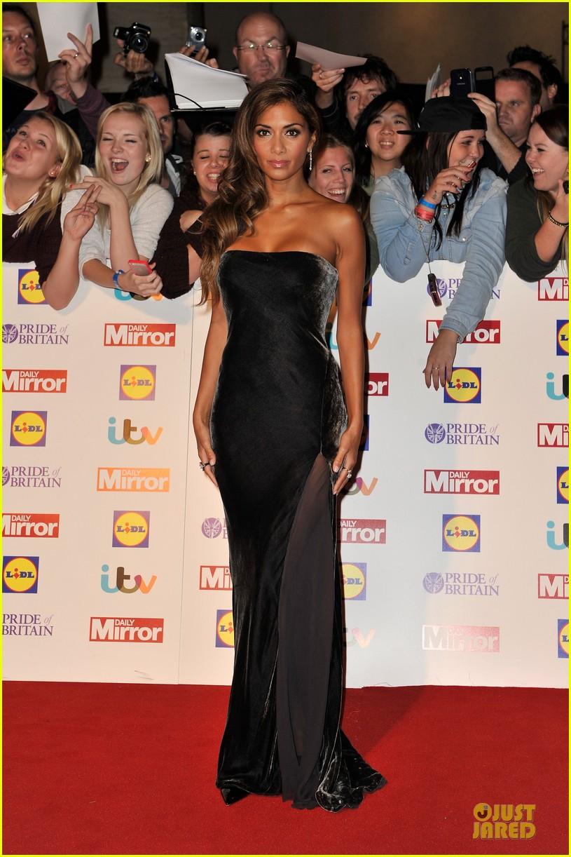 nicole scherzinger sheer dress at pride of britain awards 01