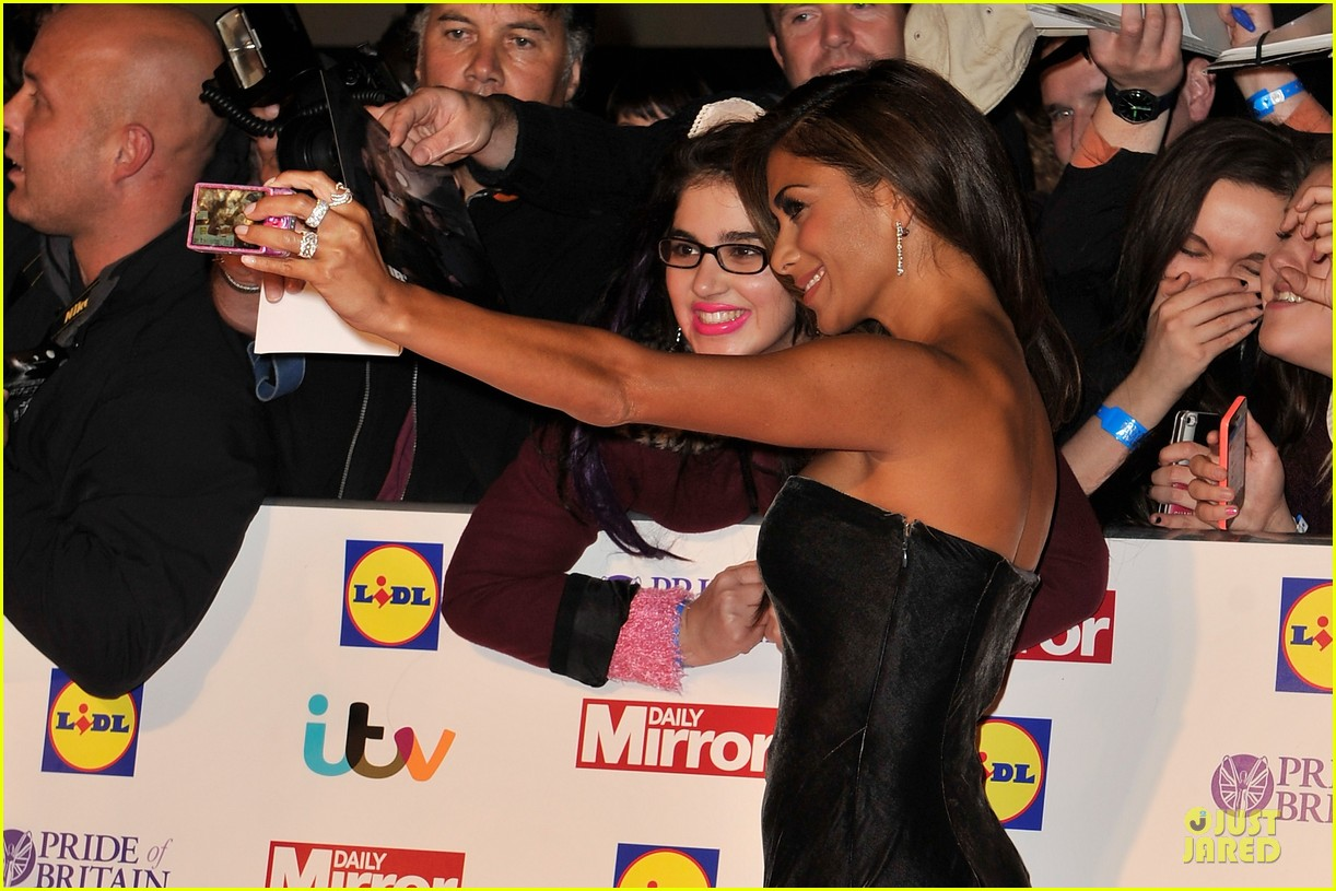 nicole scherzinger sheer dress at pride of britain awards 122968011