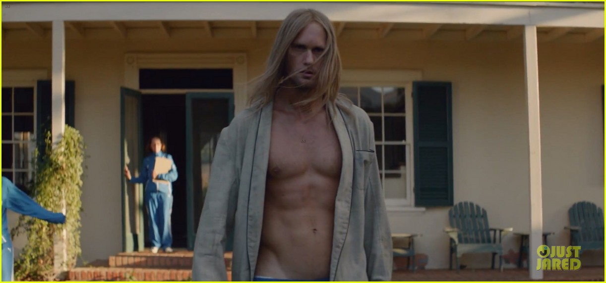 alexander skarsgard shirtless for cut copy free your mind 012969918