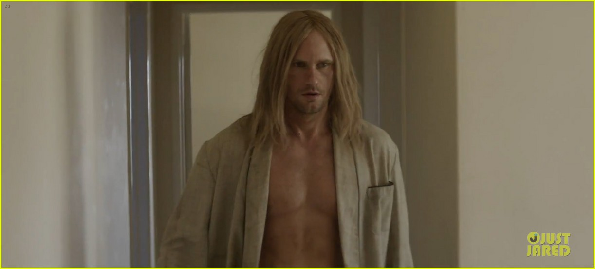 alexander skarsgard shirtless for cut copy free your mind 022969919