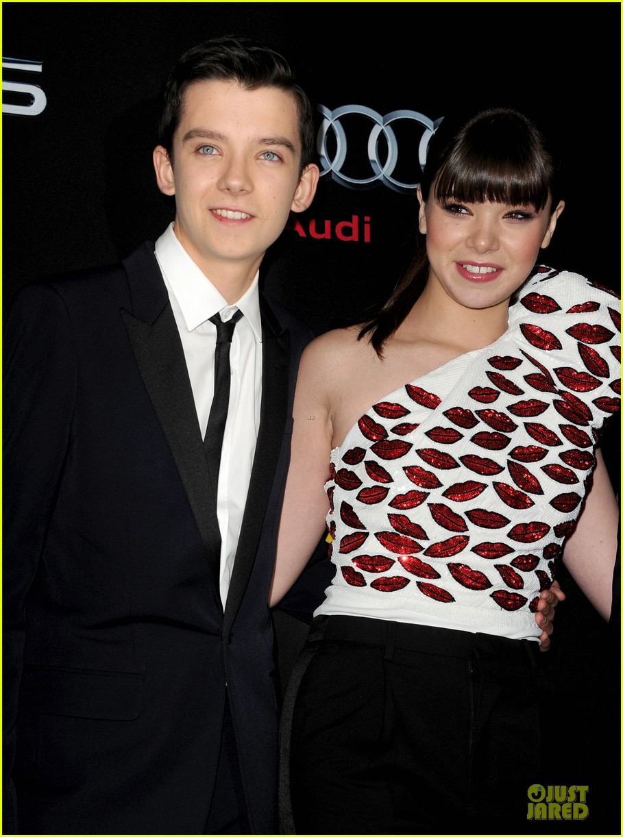 hailee steinfeld asa butterfield enders game premiere 202982071