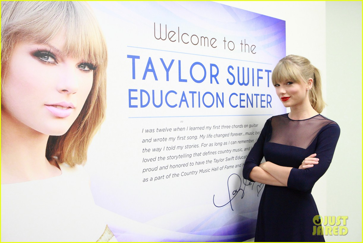 taylor swift opens education center in nashville 032970780