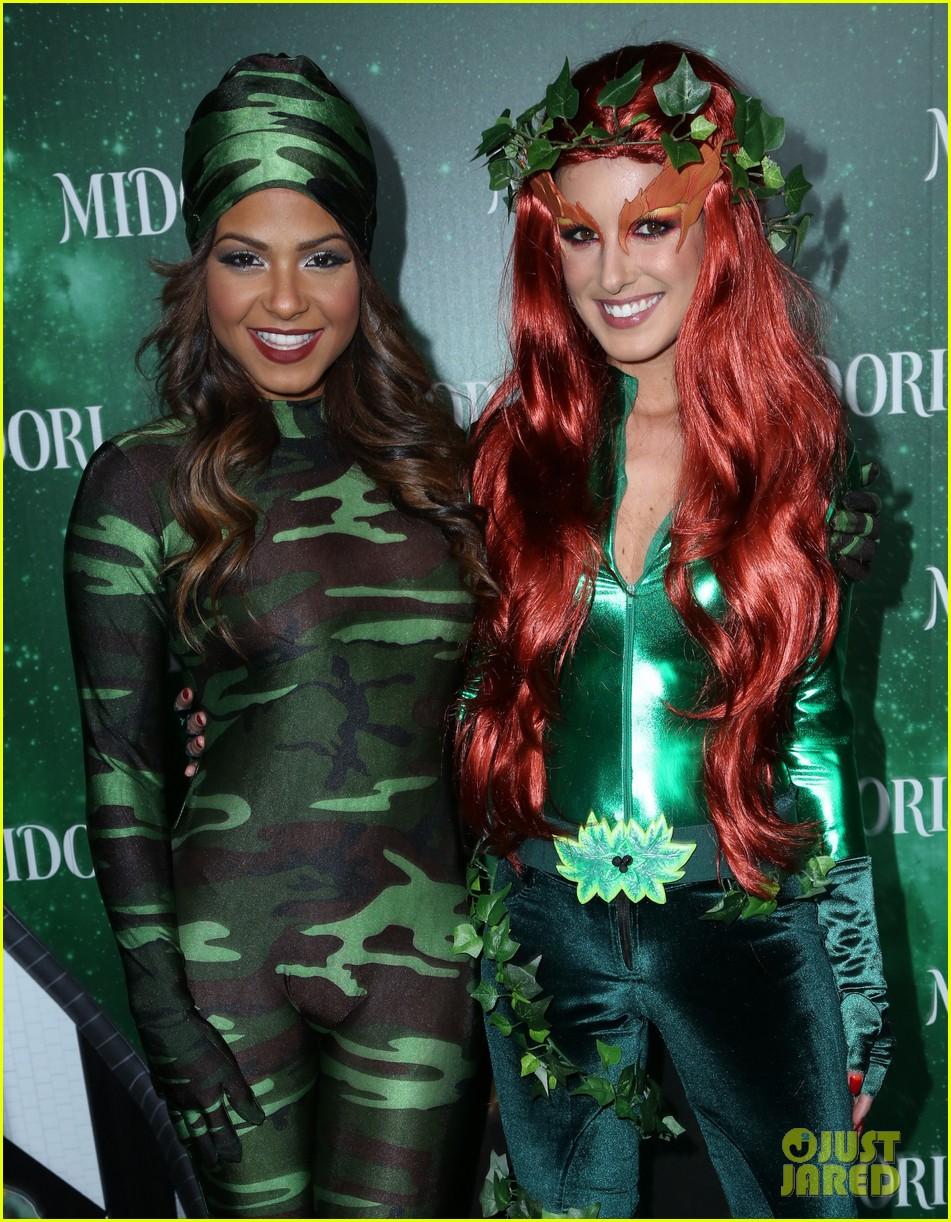 jenna ushkowitz christina milian midori green halloween 042982878