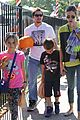 mark wahlberg mr bones pumpkin patch with family 15