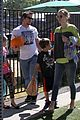 mark wahlberg mr bones pumpkin patch with family 32