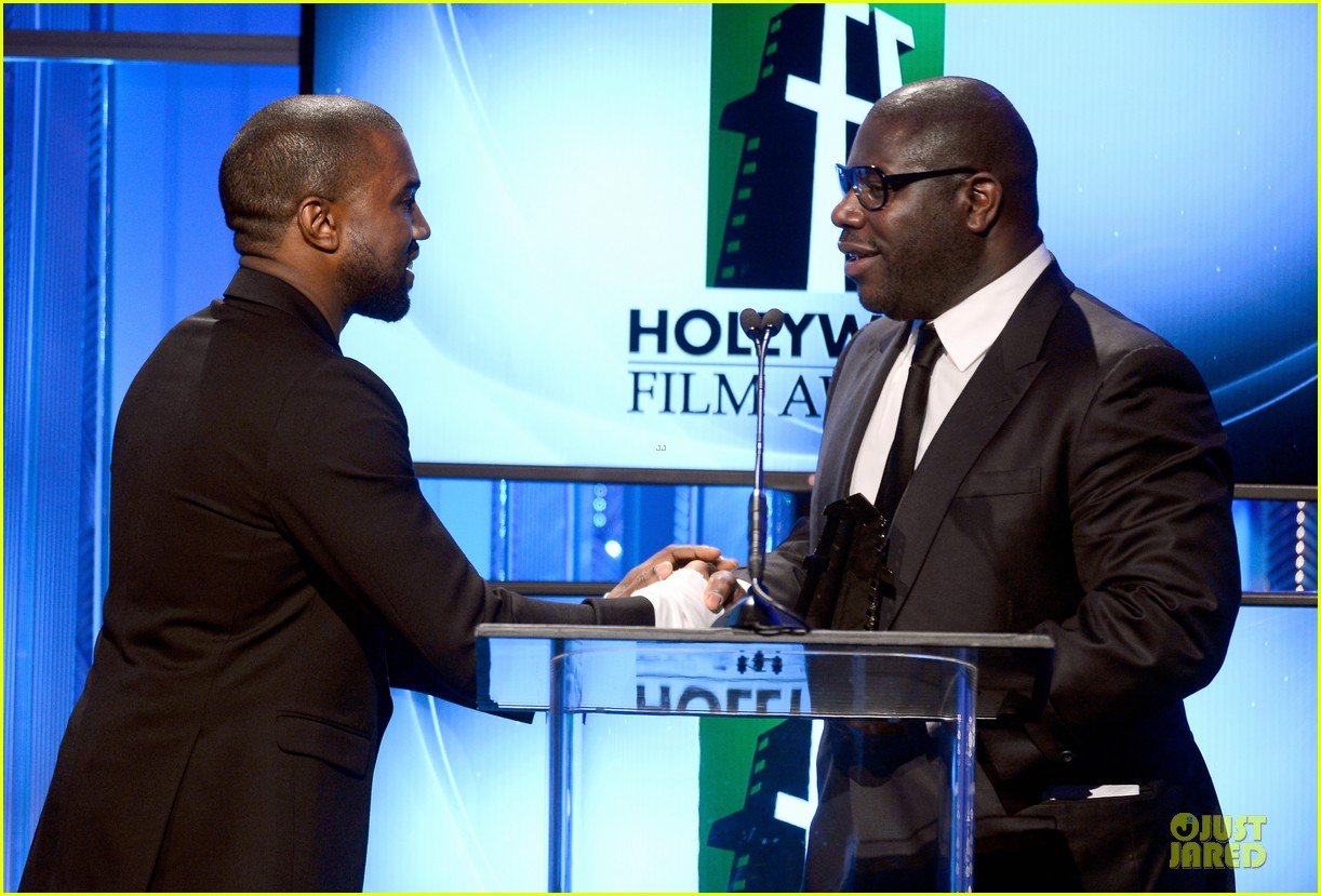 kanye west engagement glow at hollywood film awards 2013 142976860