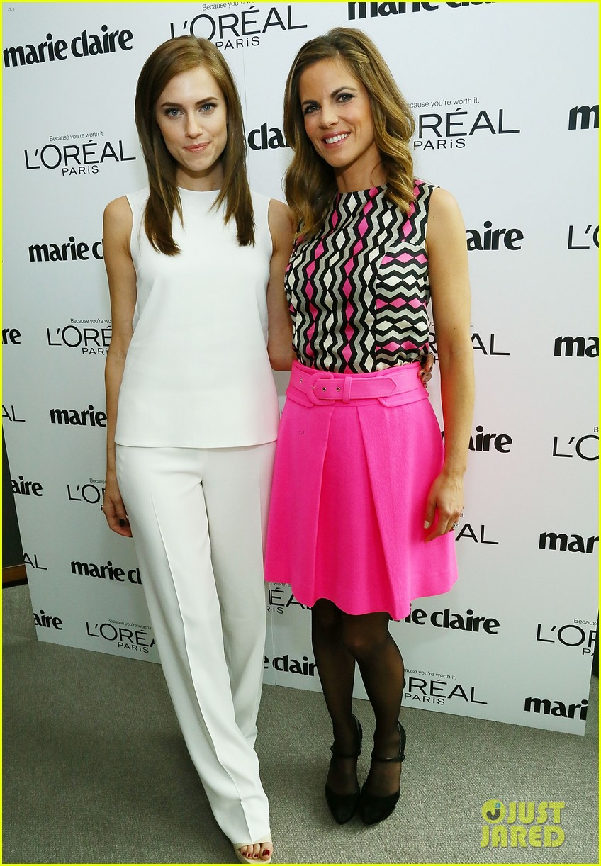 allison williams marie claire power women lunch 01