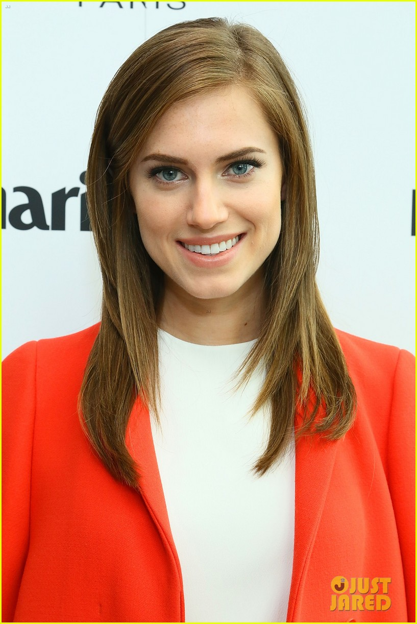 allison williams marie claire power women lunch 10