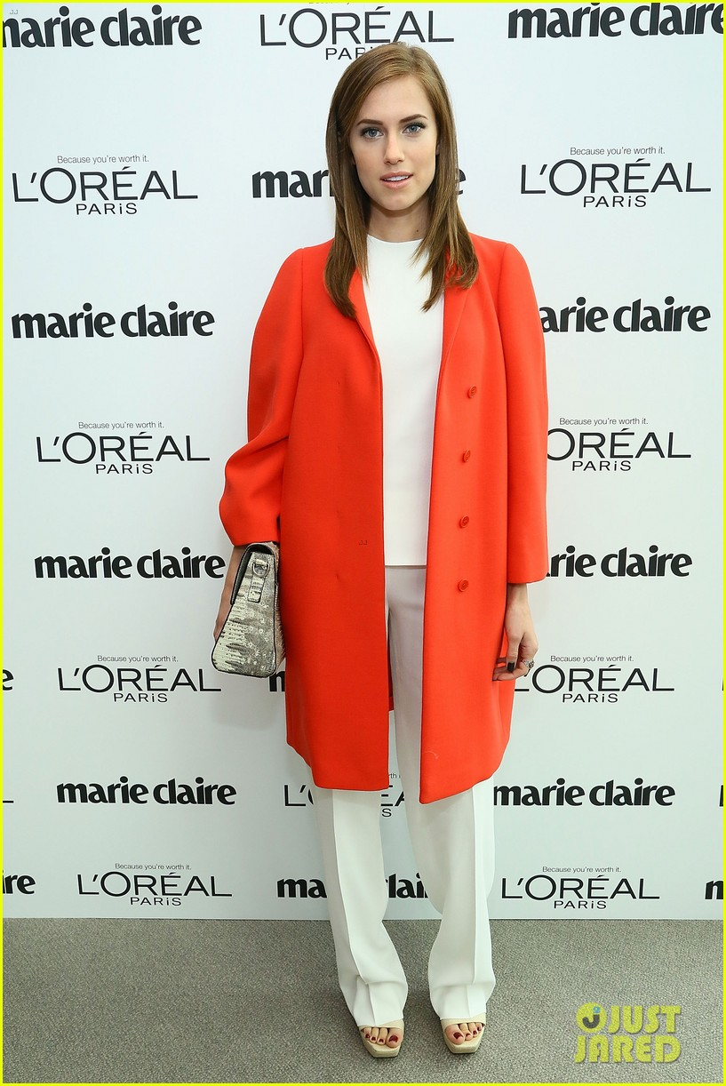 allison williams marie claire power women lunch 112983038