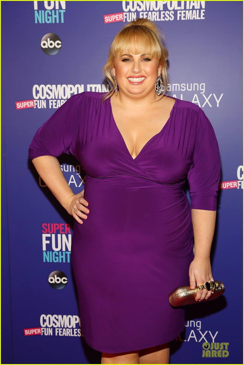 rebel wilson super fun night premiere 19