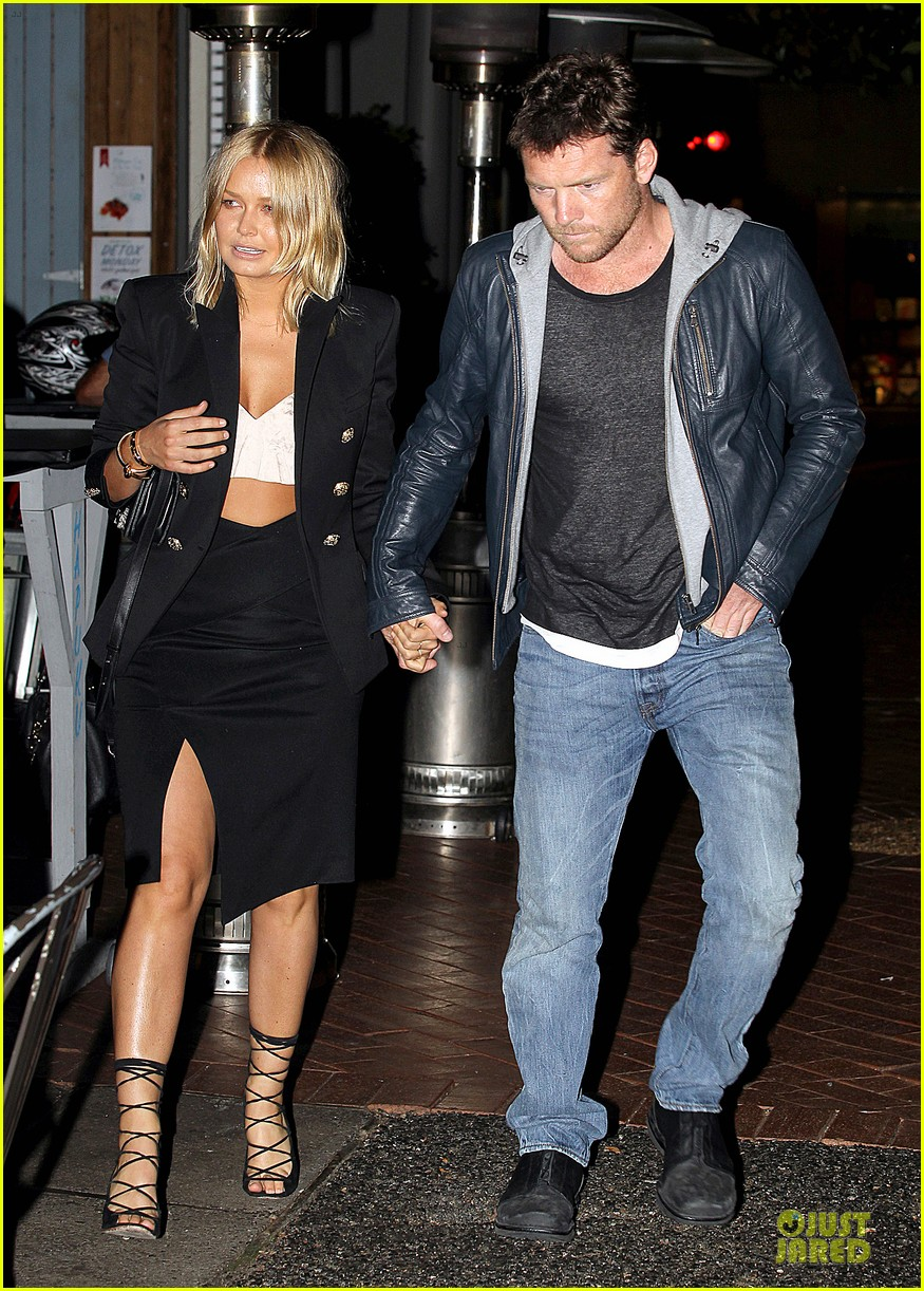 sam worthington lara bingle new couple alert 03