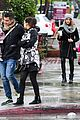 jessica alba cash warren wet family stroll after thanksgiving 07