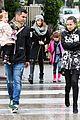jessica alba cash warren wet family stroll after thanksgiving 11