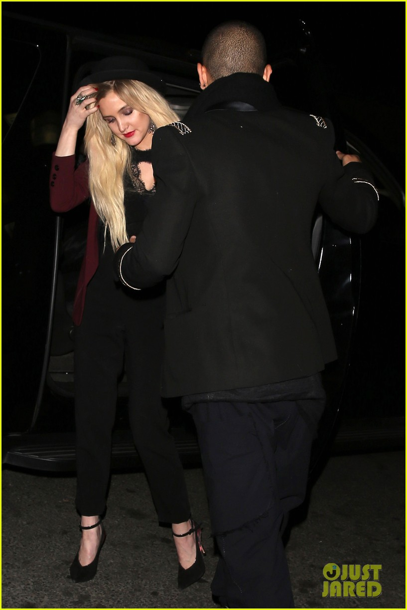 ashlee simpson evan ross hollywood date night 252987979
