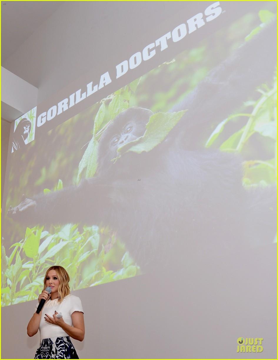 kristen bell dax shepad gorilla doctors of africa benefit 20