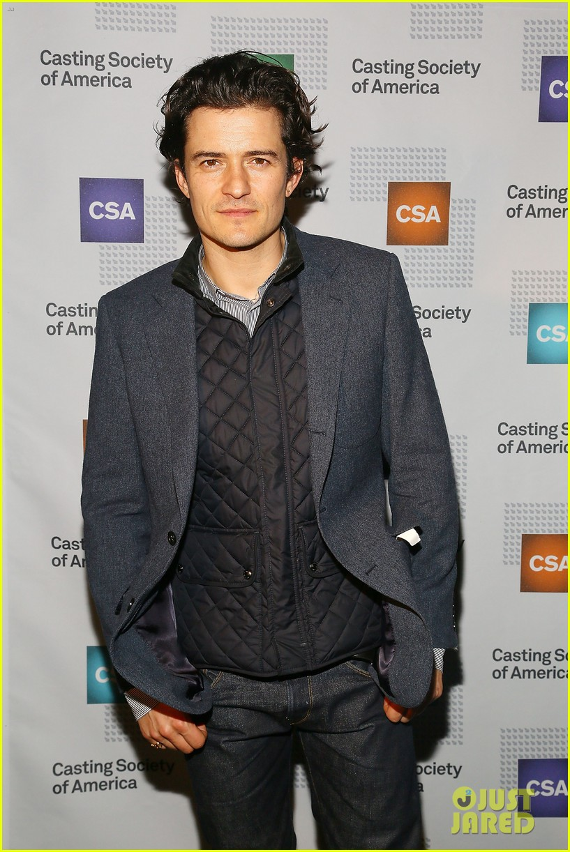 orlando bloom zosia mamet artios awards ceremony 2013 04