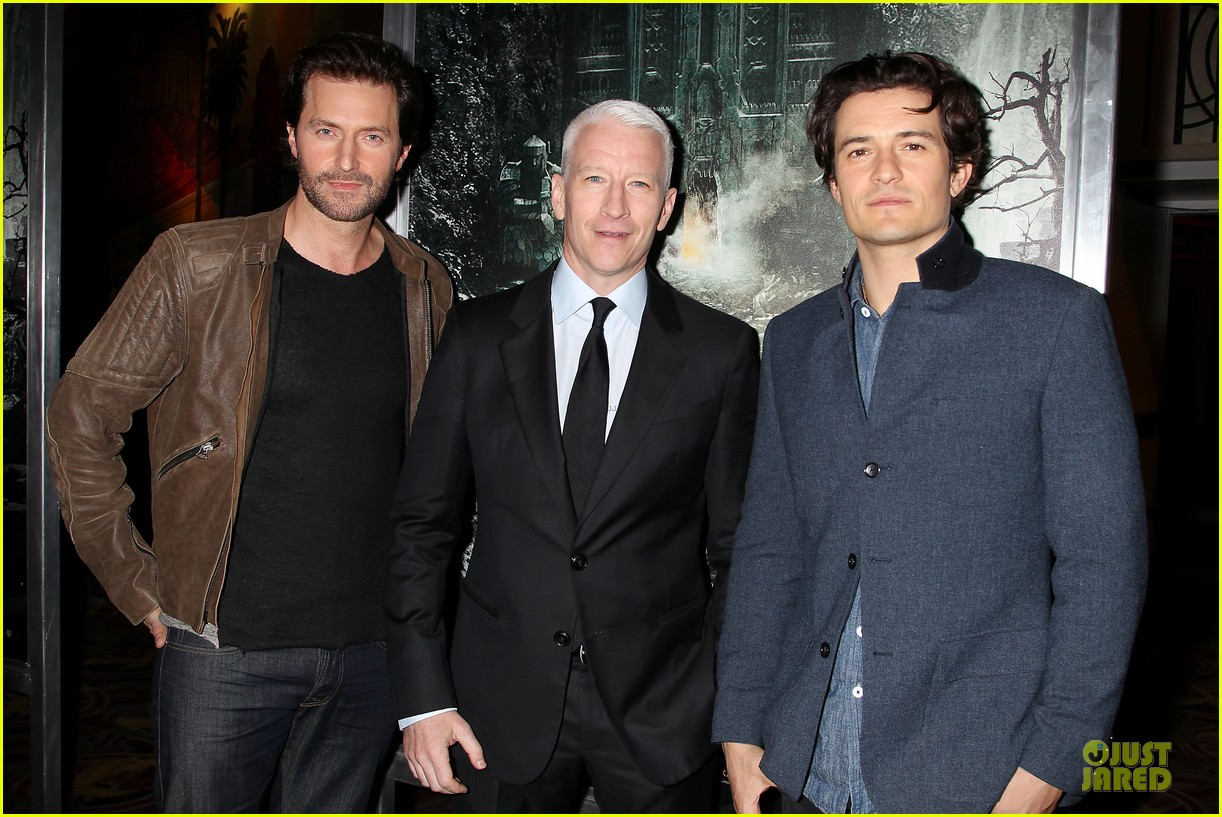 orlando bloom hobbit the desolation of smaug fan screening 042986161