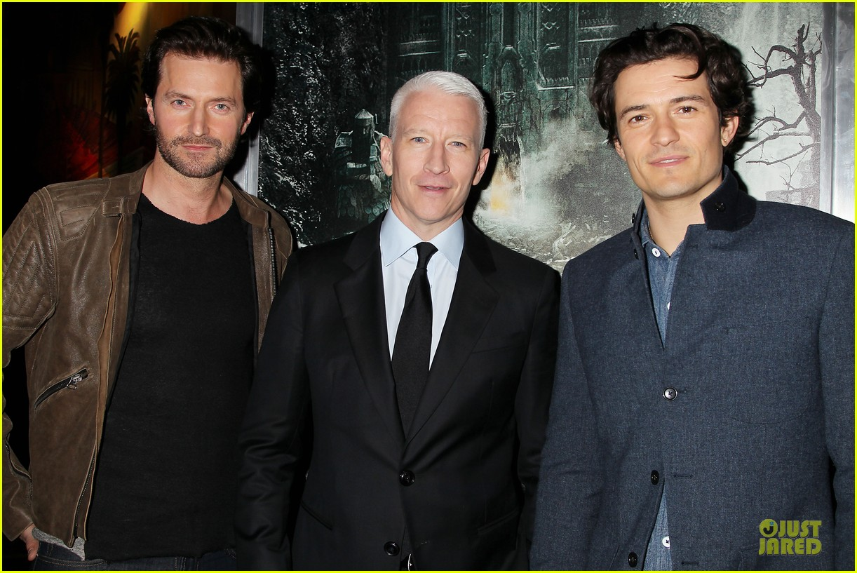 orlando bloom hobbit the desolation of smaug fan screening 11