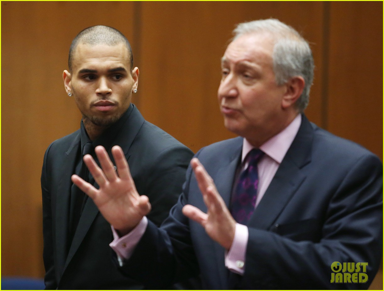 chris brown sentenced to 90 days in rehab facility 09