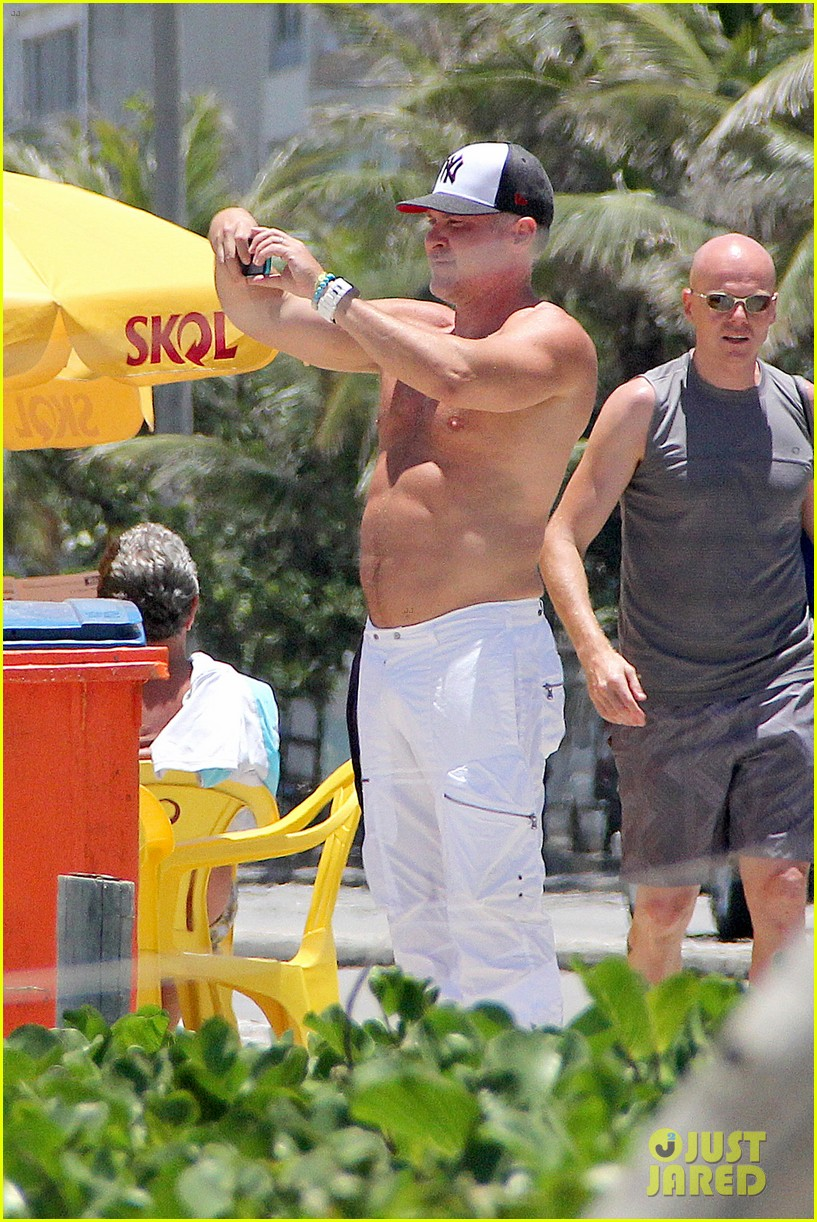 gma sam champion continues shirtless honeymoon 12