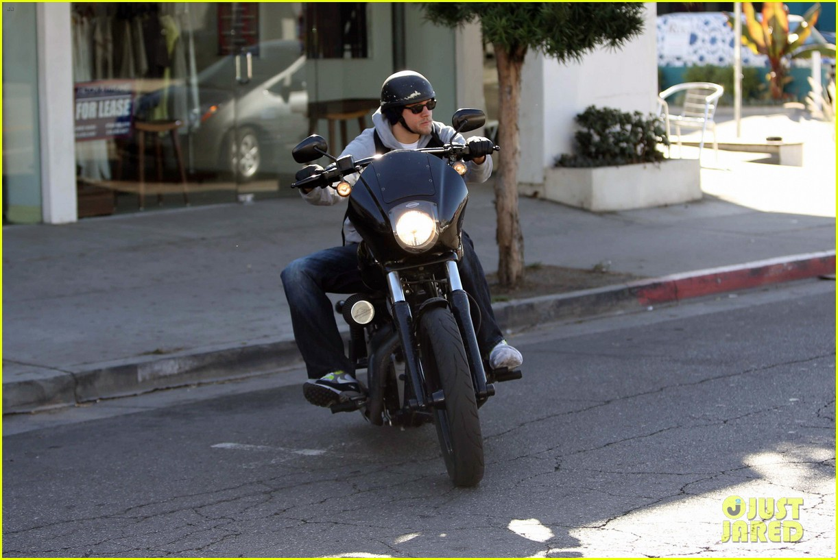 charlie hunnam west hollywood motorcycle man 11
