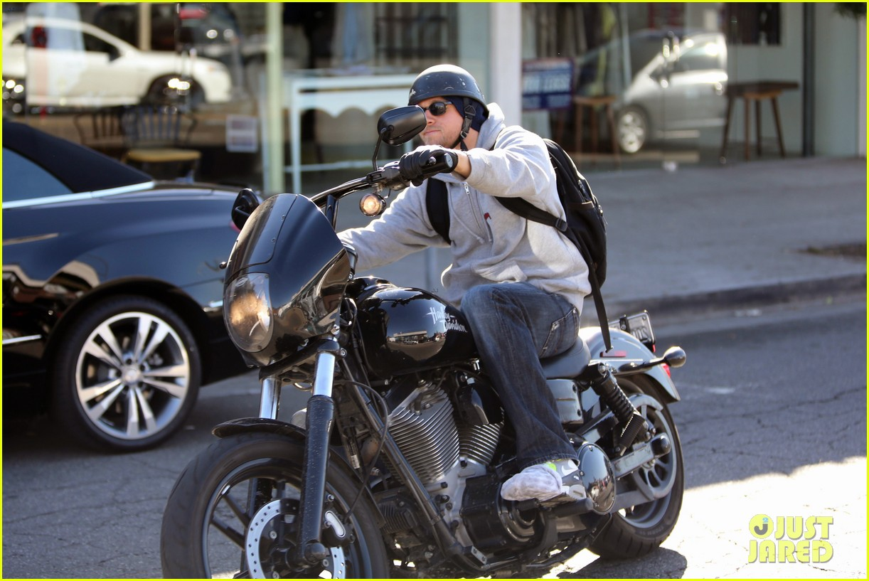 charlie hunnam west hollywood motorcycle man 14