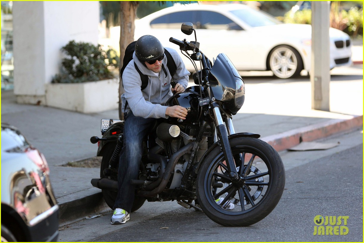 charlie hunnam west hollywood motorcycle man 15