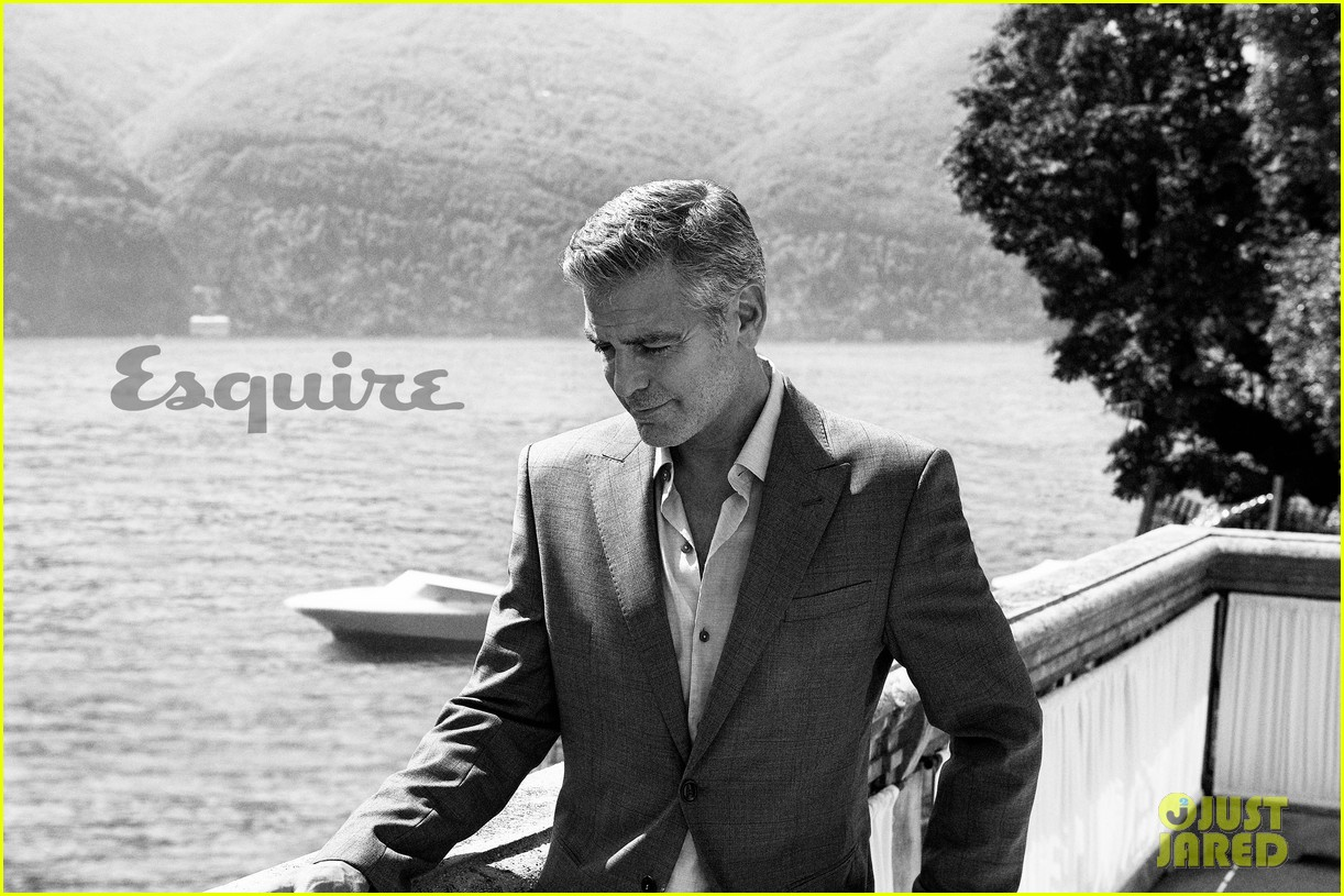 george clooney talks fame twitter brad pitt with esquire 022990309