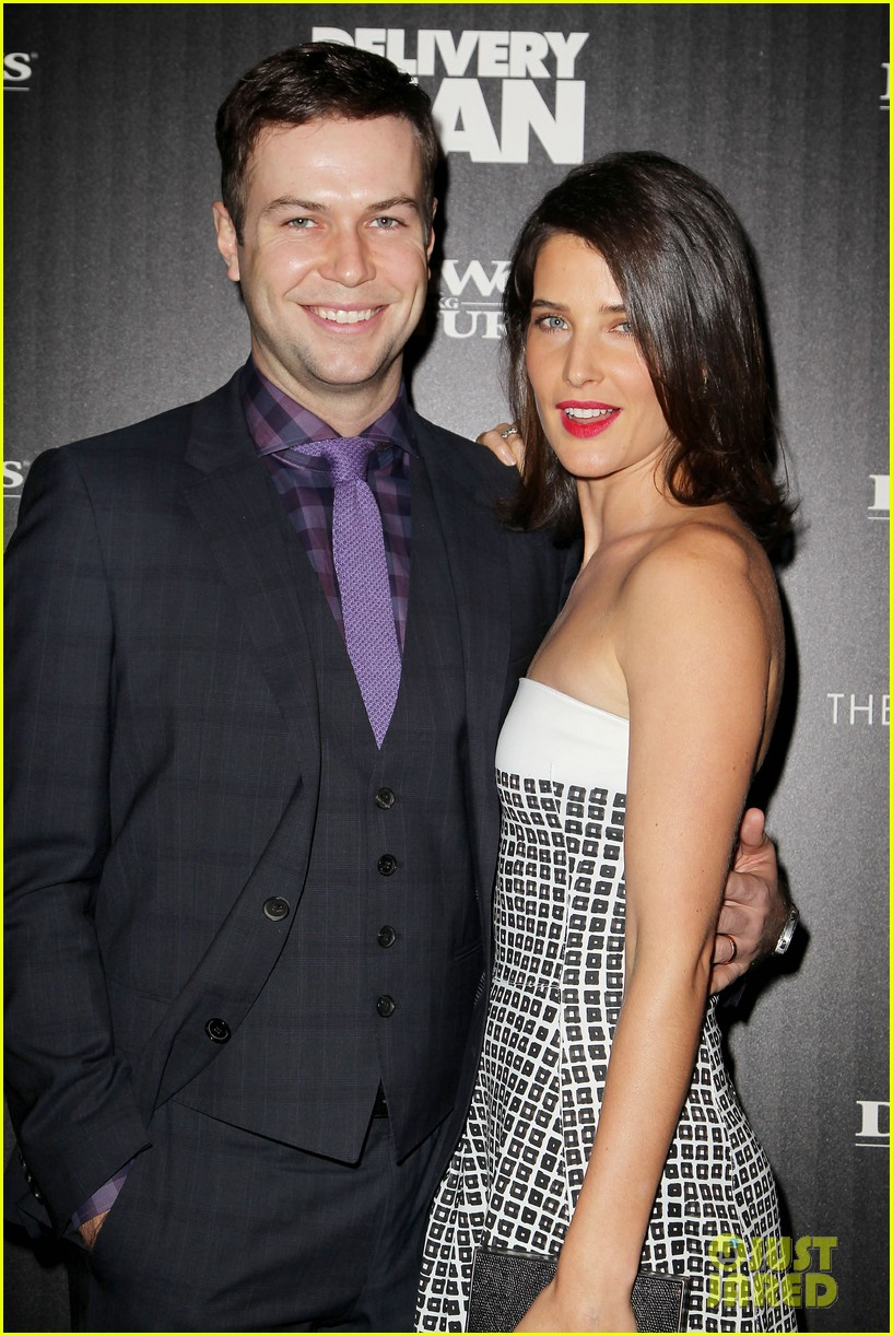 cobie smulders delivery man premiere with vince vaughn 17