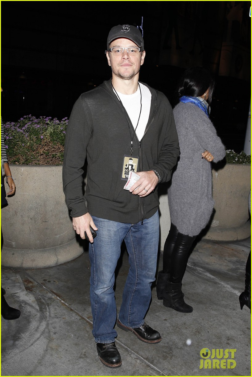 matt damon lily collins justin timberlake 2020 concert guests 09